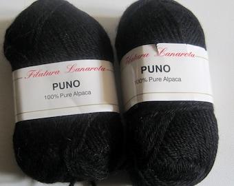 2 skeins of Filatura Lanarota Puno yarn destash