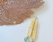 Bar Sea Fan earrings