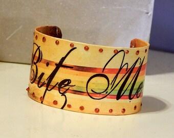 Bite Me Cuff Bracelet