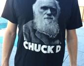 Chuck D Charles Darwin American Apparel Tshirt
