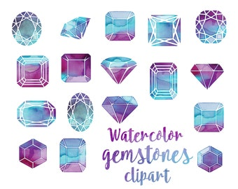Crystal clipart | Etsy