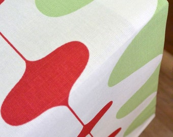 DESIGNER Dog Crate Cover - YOU Choose Fabric - New Ivon Kiwi Red shown - Dog Bed Duvet Covers