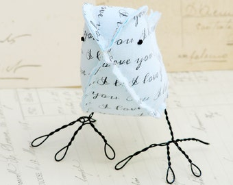 2nd Anniversary Love Bird Wedding Anniversary Gifts by Cotton Bird Designs