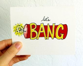 Let's BANG - Blank Card