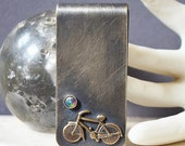 On hold for collin Do Not Buy Sunset Bike Ride Money Clip