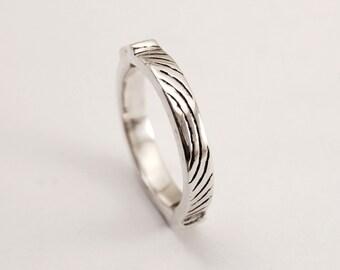 Jumpgate ring - silver