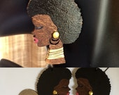 Afrocentric Jewelry,Fashion, Silhouette, Earrings