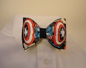 Captain America's Shield Bow Tie