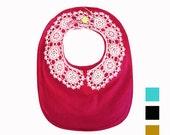 Vintage Lace Necklace )  Bib ) Colors Available