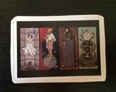 Individual Die Cut Haunted Galaxy sticker (Item 01-338)