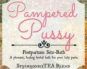 Pampered Pussy Herbal Sitz Bath - Postpartum Care