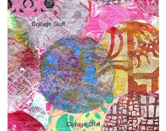 Digital Gelli Print #3 - Download and Print