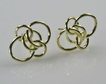 Gold Loop Wired Earring Posts Destash