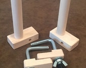 Two Maple Warping Pegs