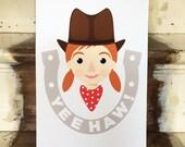 Cowgirl Print