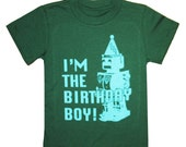 Kids Party Robot I'm The BIRTHDAY BOY T-shirt
