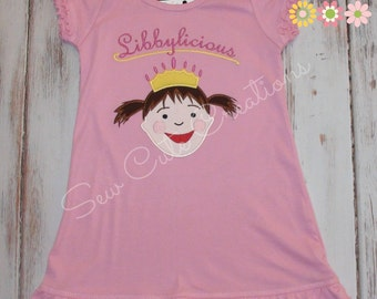Pinkalicious Dress, Pinkalicious Birthday dress, Girl Birthday Dress, Pink Dress, Pink Party dress, Pinkalicious outfit, sew cute creations