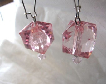 Light Pink   Lucite Earring!!