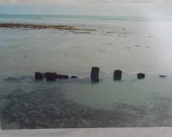 Wreck in Crossapol Bay card