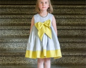 Dress and Top PDF Sewing Pattern, The Wunderschön Complete Set, Sizes 6mo to 12