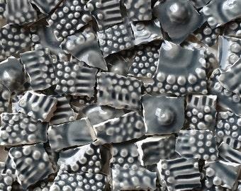Mosaic Tiles- Urchin- Gray- 100  tiles