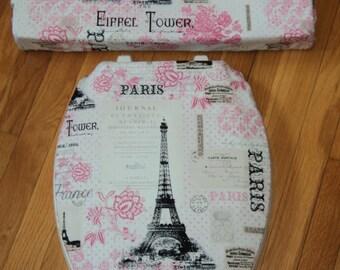 Paris Chic.. Toilet Seat Cover Set