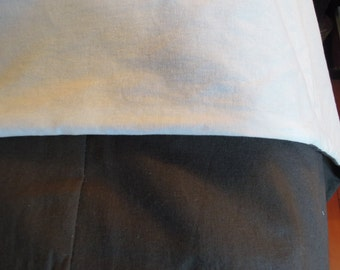 Twin Linen Cotton Simple Duvet Cover, Linen, Natural Bedding, Tranquility1