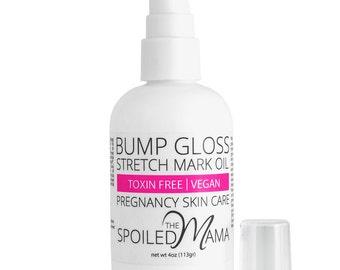 4 oz Bump Gloss Stretch Mark Oil