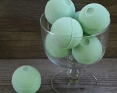 Green Tea & Cucumber Bath Bombs - made with Olive Oil and Shea Butter