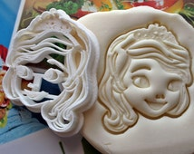 Princess Sofia The First Cookie Cutter / Made From Biodegradable Material / Brand New / Party Favor / Kids Birthday Baby Shower Cake Topper