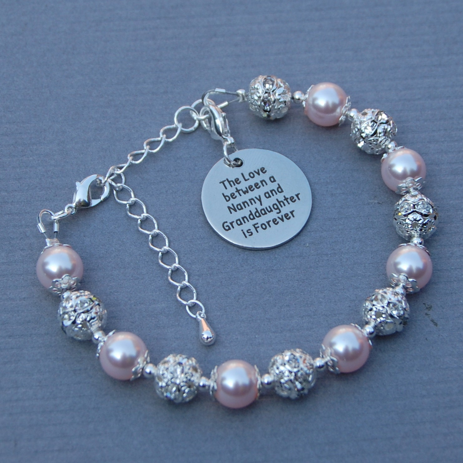 Wedding Gift For Granddaughter : Nanny Granddaughter Gift Nanny Granddaughter Jewelry Nanny