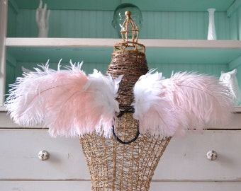 Feather Wings Faerie Angel Ostrich Photo Prop Made to Order