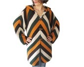 NEW! Colourful Cardigan with Hood by AFRA