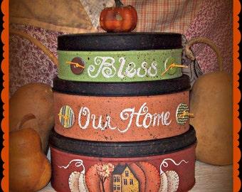 Apple Tree Cottage Original Design E Pattern - Autumn Stackers