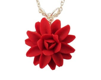 Dahlia Necklace  - Dahlia Jewelry Collection