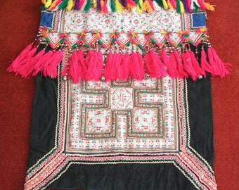 Textiles -  Hmong Baby Carrier/ Hmong / Miao fabric / Hmong embroidery panels - 1008