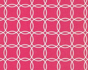 Sale fabric, Girl fabric, Metro Living Bracelets fabric by Robert Kaufman- Bracelets in Hot Pink- Fat Quarters to Yardage
