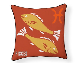 ZODIAC PILLOW: Pisces
