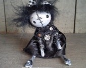 "Goth art doll accessory BJD prop miniature creepy cute ""IDGY"" party favor"