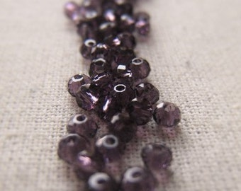 Gemstone Roundelle 2mm Amethyst Parcel Item No. 8092