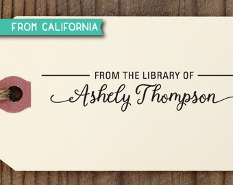 custom RUBBER STAMP with proof from USA, custom rubber stamp, self inking stamp, library stamp, book lover book worm teacher - 161 (r302)
