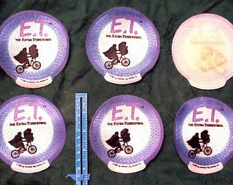 10 ET Patch Patches Extra-Terrestrial Flying Bicycle 1989 Universal Cities studio