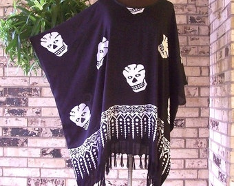Day of the Dead Rayon Rayon Tunic