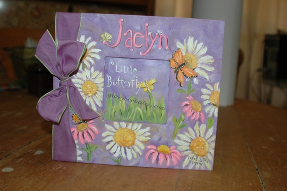 Beautiful Butterfly Baby Memory Book 12x12 Scrapbook Style