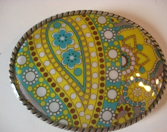Womens Belt Buckle - Lemonade