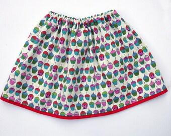 Girl's Cupcake Skirt / Children's / Kids / Baby Clothes