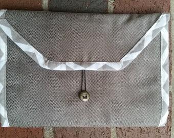 Travel electronic cord organizer/caddy; groomsmen gift; masculine gift