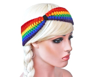 Rainbow Headband Turban