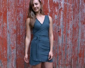 Anita Wrap Dress ~ Bamboo & Organic Cotton ~ Made to Order