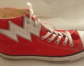 Lightning bolt flash shoe wings (finished item)